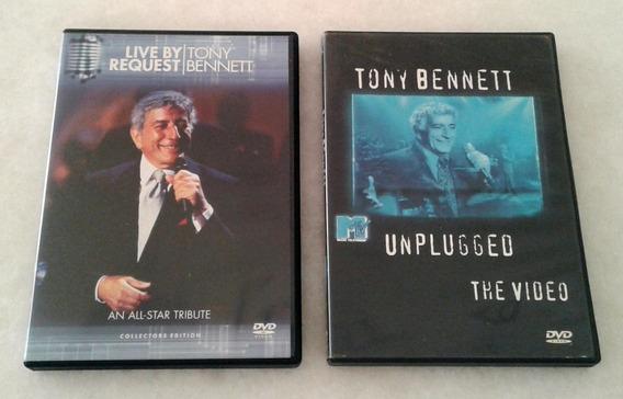 Dvd Tony Bennett - Duas Apresentações - Usados Made In Usa