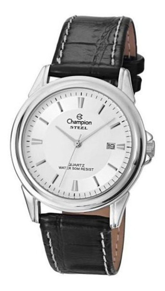 Relógio Champion Masculino Prateado Ca20536q