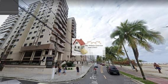 Apartamento Com 2 Dormitórios Para Alugar, 75 M² Por R$ 1.500,00/mês - Aviação - Praia Grande/sp - Ap0168