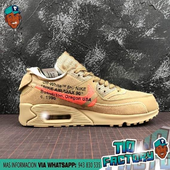 venta al por mayor Nike Air Max 90 x OFF WHITE Fb Tio