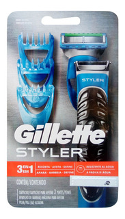 Maquina De Afeitar Gillette Styler 3en1. Original