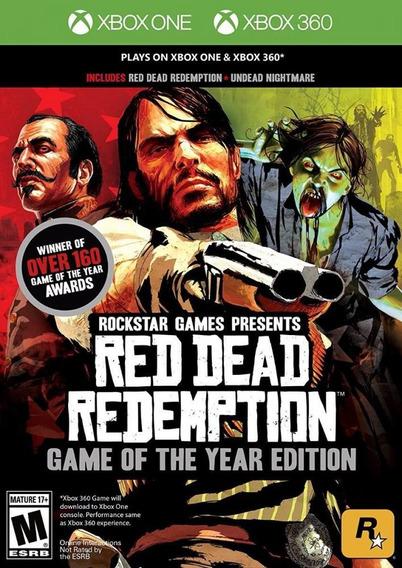 Red Dead Redemption Goty Xbox 360/ Xone Midia Fisica - Novo