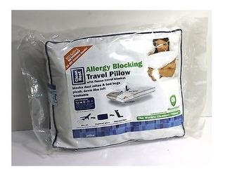 Colcha-almohada Viajero-proteccion Acaros Polvo Alergias
