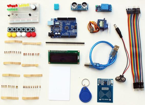 Kit Arduino Iniciante Uno Pronta Entrega Display Automação