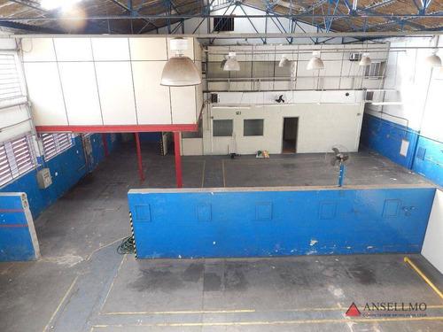 Imagem 1 de 30 de Galpão Para Alugar, 1443 M² Por R$ 23.000,00/mês - Planalto - São Bernardo Do Campo/sp - Ga0376