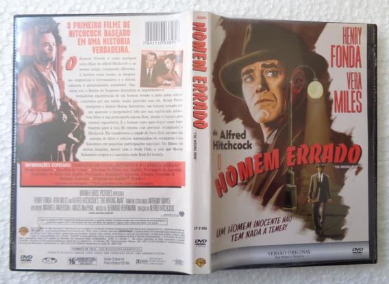Alfred Hitchcock Dvd Nacional Usado O Homem Errado H. Fonda