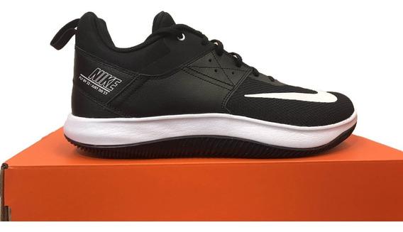 Tênis Nike Fly By Low 2 Preto E Branco Original