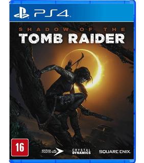 Shadow Of The Tomb Raider Ps4 ( Sellado ) Envíos Grátis