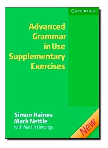 Advanced Grammar In Use (2/ed.) - Supplementary Exercises Wi