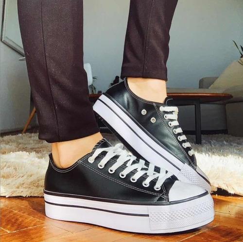Motivar Evaluación mando  2x1 Zapatillas De Lona Estilo Converse | Mercado Libre