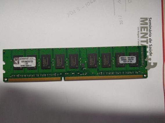 Memória Kingston Ddr3 2gb 1066 Mhz Desktop 16 Chips 1.35v