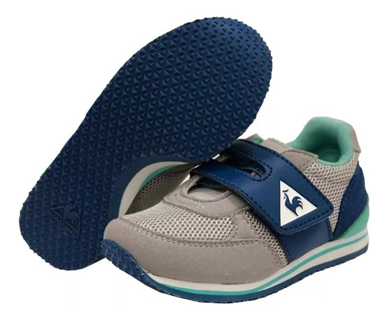 Zapatillas Le Coq Sportif Bebes Kl Runner Inf Grey Blue