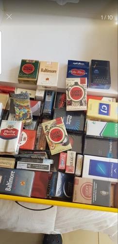 Cigarrillos Colección 120 Cajas Selladas Nuevas