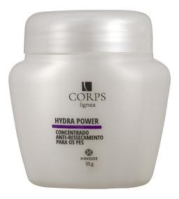 Creme Anti Ressecamento P/os Pés Conc.hydra Power Hinode 55g