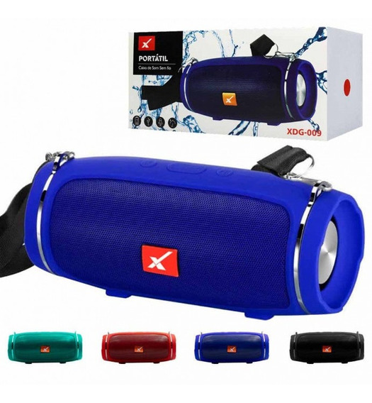 Caixa De Som Bluetooth Portátil C/ Alça 5w Xtrad -xdg009