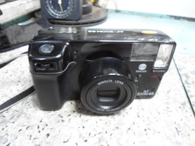 Câmera Fotográfica Analógica Minolta Af Zoom 65 - Funcionand