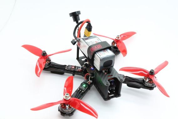 Drone Racer Freestyle Fpv+ Radio+ Óculos+ Baterias-220mm 2300kv 35a F4 Pro Corner