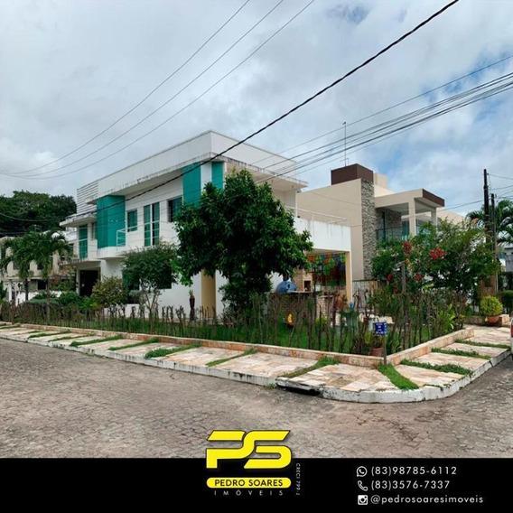 Casa Com 4 Dormitórios À Venda Por R$ 950.000 - Intermares - Cabedelo/pb - Ca0583