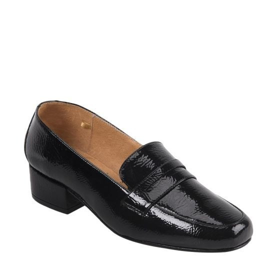 Mujer Zapatos Libre Negro México Alto Mercado Charol En Tacon Calzado 4AjR53L