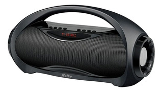 Parlante Bluetooth Portatil Laser Radio Inalambrico Negro