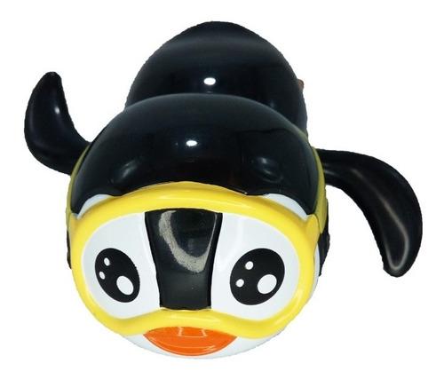 Pinguinos Nadadores A Cuerda Hola 567 Juego Baño Educando