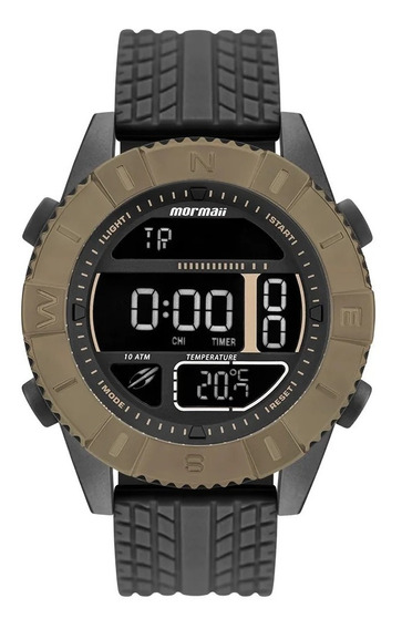 Relógio Mormaii Masculino Acquaforce Coyote - Technos C/ Nfe