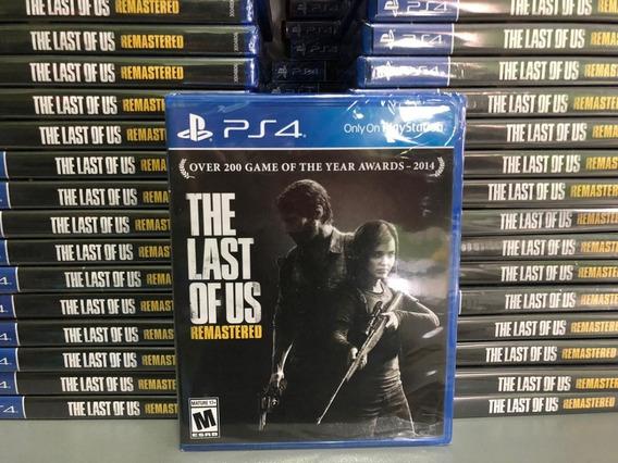 The Last Of Us Remastered Ps4 Dublado Português Mídia Física