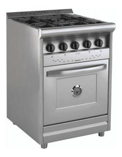 Cocina Morelli 600 Forza Puerta Acero