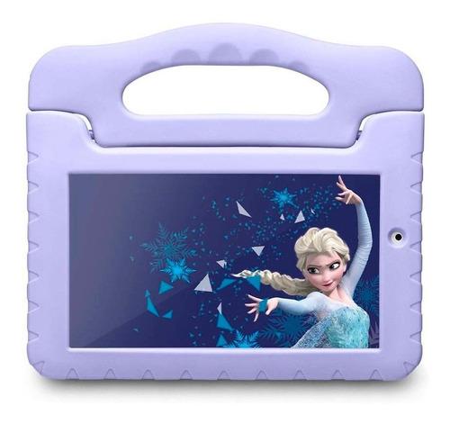 "Tablet  Multilaser M7S Plus Disney Frozen NB315 7"" 16GB púrpura com 1GB de memória RAM"