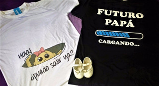 Remeras Para Baby Shower Personalizadas !