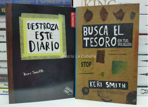 Destroza Este Diario Mas Busca El Tesoro 2 Libros En Oferta