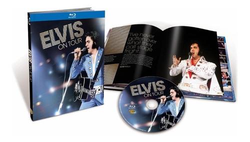 Imagen 1 de 5 de Elvis Presley Elvis On Tour Blu-ray Imp.nuevo Orig. En Stock