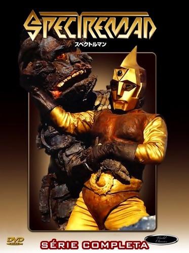 Spectreman Série Completa Dublado E Legendado 8 Dvds!!