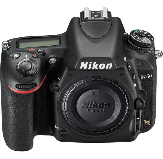 Corpo Câmera Full Frame Nikon Fx D750