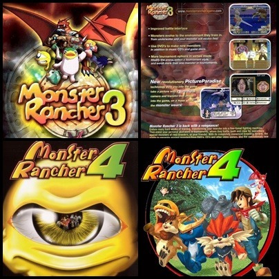 Ps2 - Monster Rancher - 3 Dvds - Patch Desbloqueado