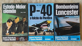 História Ilustrada Da Segunda Guerra, Editora Renes, 3 Volum