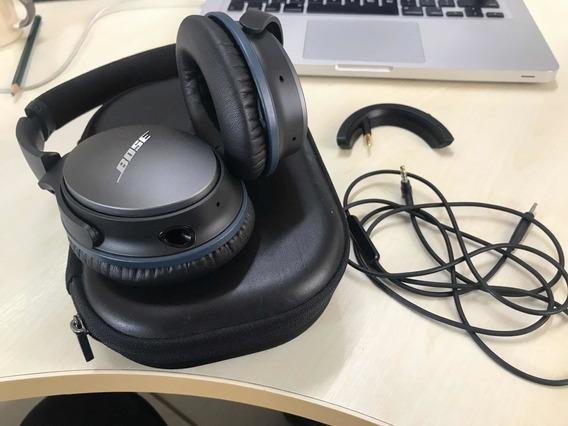 Fone Bose Qc25 Quietcomfort Fio + Bluetooth Novinho Top