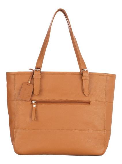 Bolsa Couro Feminina Legítimo Shopping Bag + Garantia E Nf