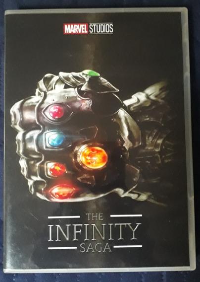 Dvd The Infinity Saga (marvel Studios) 20 Filmes