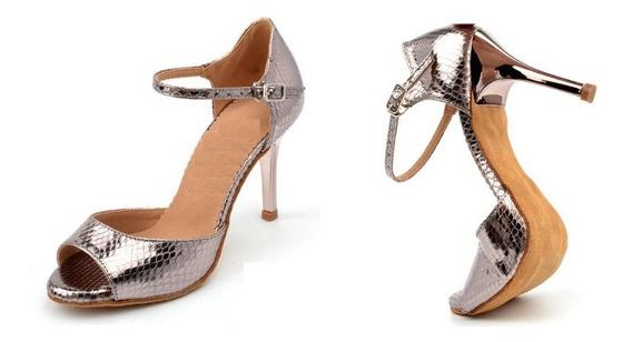 Zapatos De Baile Latino, Salsa, Bachata Y Kizomba