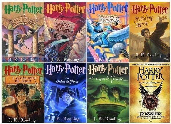 Coleção Harry Potter + Criança Amaldiçoada - 8 Livros