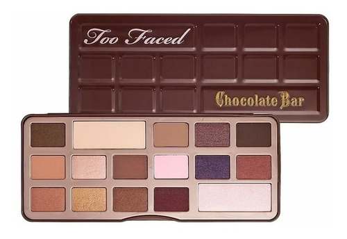 Sombras Too Faced Chocolate Bar X 3 Unida - g a $73