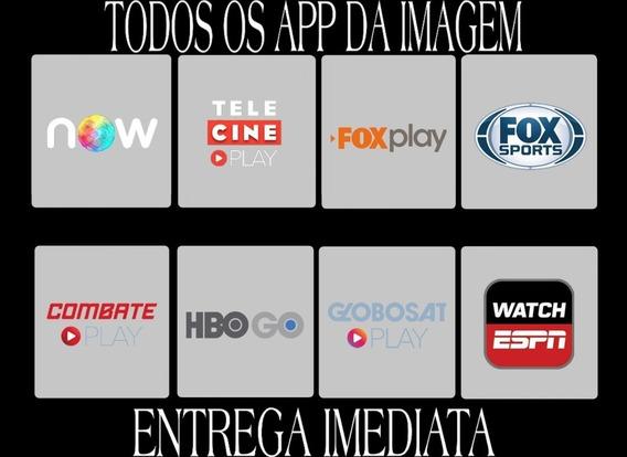 Promoção, Telecine, Foxplay, Combateplay, Sportv 12 Mês.
