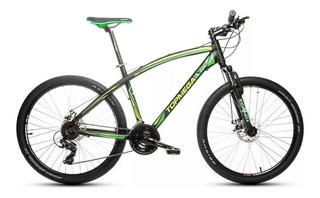 Bicicleta Mountain Bike Top Mega Envoy Aluminio R26