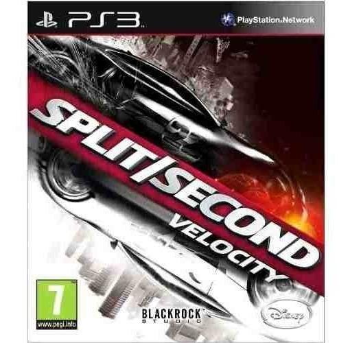 Split Second - Jogos Ps3 Playstation 3 - Corrida