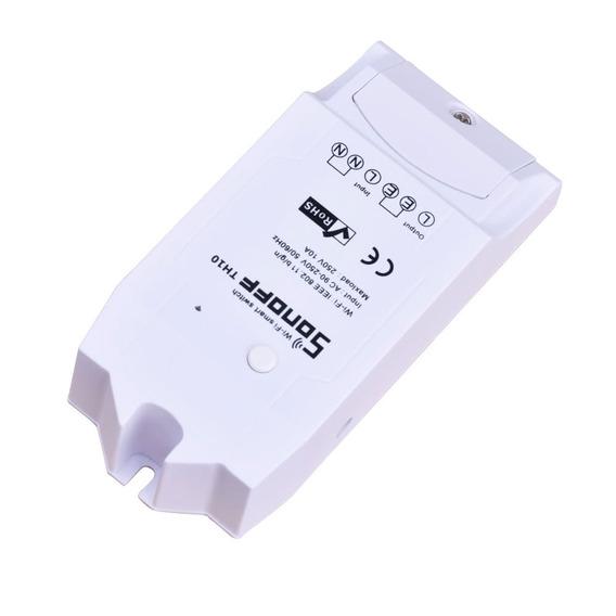 Sonoff Th10 Wifi Smart Switch Controle Branco