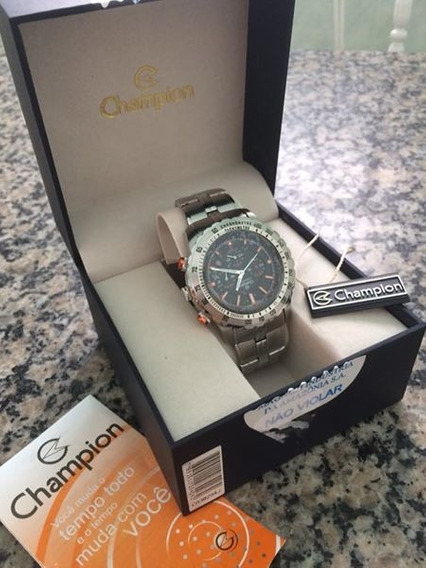 Relógio Champion Prata Original