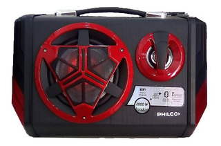 Philco Djp20 Altavoz Activo Bluetooth Usb Sd Mp3 Luces Led