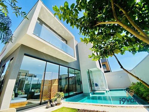 Casa De Luxo Com Piscina, Sauna, 5 Suítes À Venda, 380 M² Condomínio Urbanova - Sjcampos/sp - Ca1824