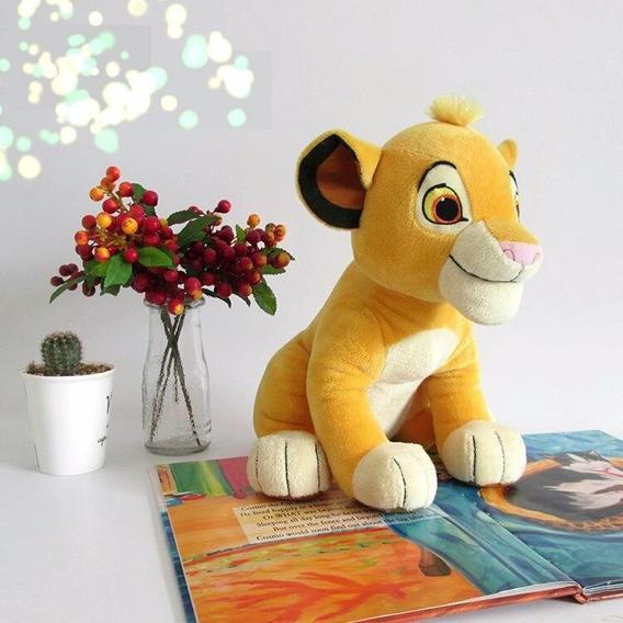 Pelúcia Simba Rei Leão 26cm Novo E Etiquetado